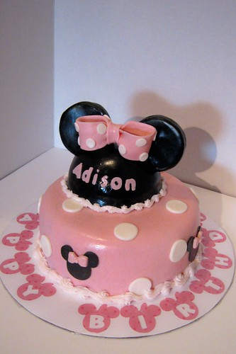 Minnie Cake by Cake Maniac