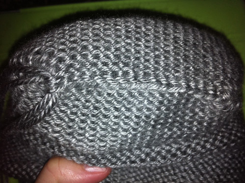 Monster head bind-off