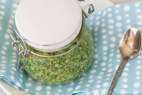 Wild garlic pesto / Ramson pesto / Karulaugupesto