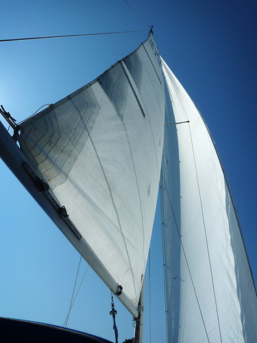 Summer sail in late April