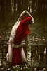 Iscariot 1 (paulsnyder90) Tags: trees red nature water photoshop dark easter scary woods veil cross mud jesus manipulation disturbing betrayal judas iscariot brookeshaden