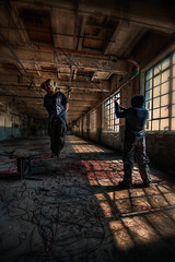 The Lynching (murphyz) Tags: lynch abandoned rope urbanexploration hanging mills derelict noose urbex