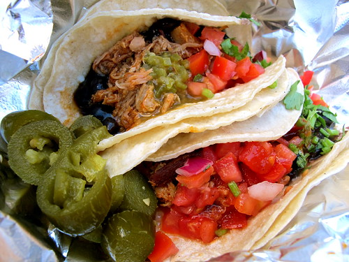 Pork chipotle tacos