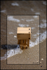 Calda o Fredda? (LPhotos87) Tags: sea brown beach japan amazon mare mini spiaggia giappone marrone enoki yotsuba danbo tomohide revoltech danboard