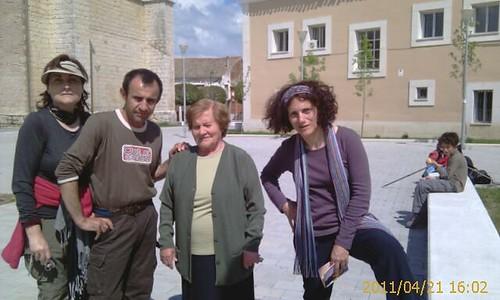 Foto de todos con Teresa de Valdestillas by LaVisitaComunicacion