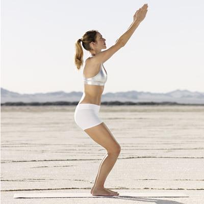 Yoga pose: Utkatasana