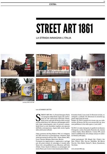 omino71 @ Street art 1861 @ ARTESERA magazine #5/11 by OMINO71