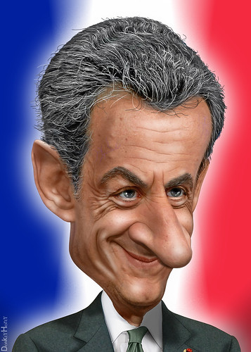 Nicolas Sarkozy - Caricature