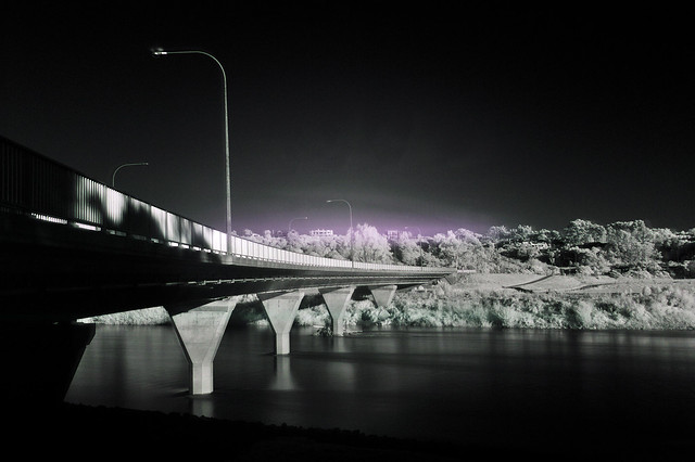 Fitzherbert Bridge in Infrared 850nm