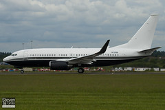 N721BA - 37111 - Private - Boeing 737-7JR BBJ - Luton - 100607 - Steven Gray - IMG_3388