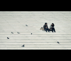 flock (millan p. rible) Tags: street cinema paris france canon movie still candid flock stranger ladefense cinematic 135l canonef135mmf2lusm canoneos5dmarkii 5d2
