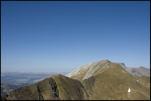 Devil's Ridge from Sgurr an lubhair