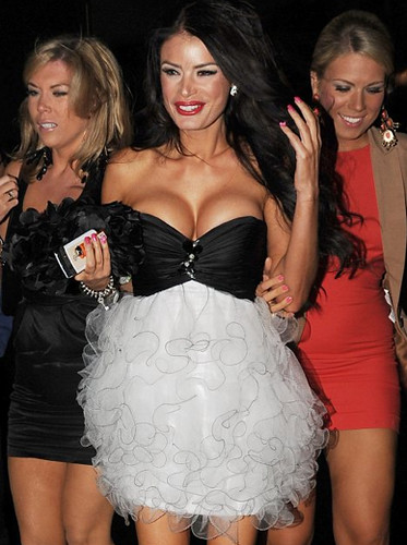 TOWIE  star Chloe Sims wearing Forever Unique on a night out in London 01.05.11