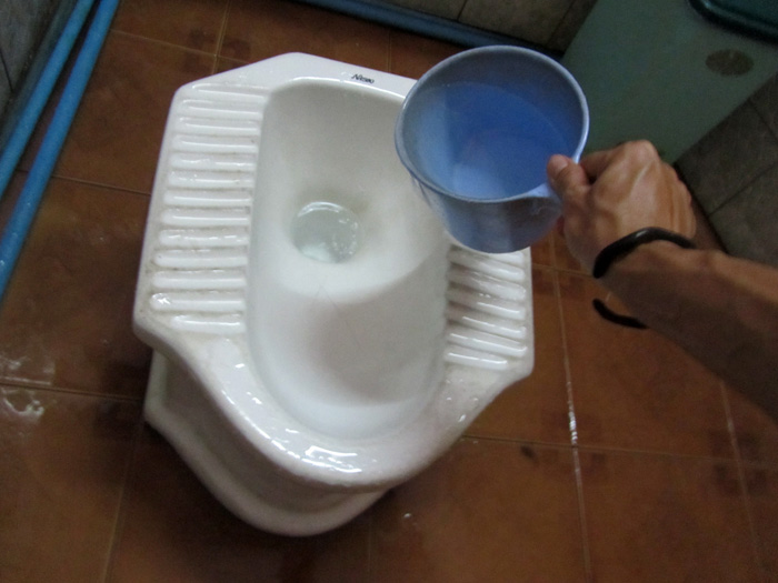 Asian Squat Toilet