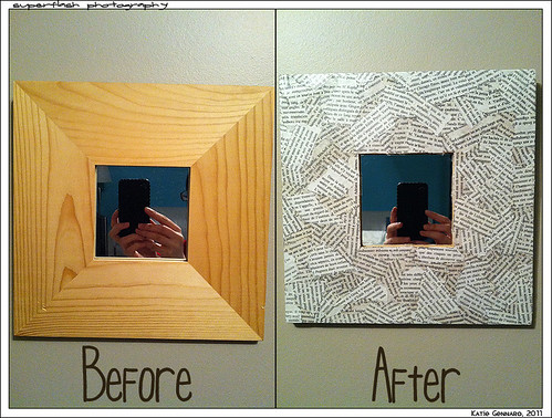 before & after of mirrors