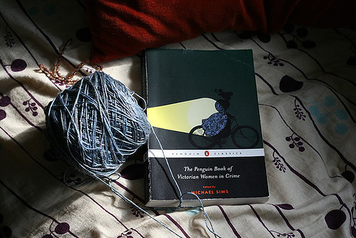 Reading+Knitting
