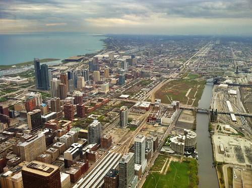 View from the Willis Tower in Chicago