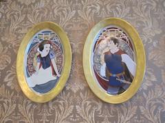 Snow White Plates