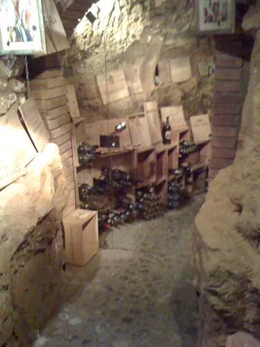 Volterra wine cellar
