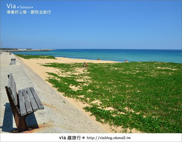 【澎湖沙灘】山水沙灘,遇到菊島的夢幻海灘!3