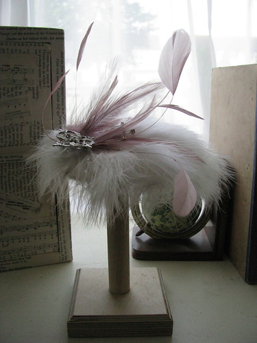 Feather Fascinator by Handmade and Heritage