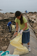 IMG_7472 (Streamer -  ) Tags: green beach clean up cleanup volonteers people nature dalila kids billbong zalul school young teen group ashqelon ashkelon israel sea ocean garbage bags initiative nonprofit movement ecology enviornment streamer