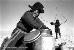 Traditional life of nomadic people (Mongolia) (egourlan) Tags: 2002 people bw children asia w january nb mongolia asie ethnic enfant mn gens mongolie mongolian ethnie ethnicgroup mongole jargalant nomadiclife vienomade 1nb egourlan iconodia ericgourlan gourlan ethniegoupe ulanbatorregion 31662mn1