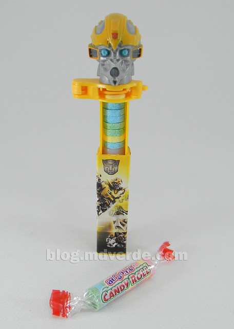 Transformers Dispensador de Pastillas Bumblebee