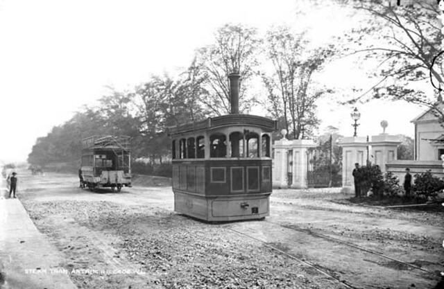 Steam Tram, Antrim