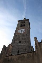 Aosta Campanile Cattedrale (rocielma) Tags: italy italia cathedral valle campanile valley augusta italie aosta cattedrale valle daosta daoste salassorum prtoria