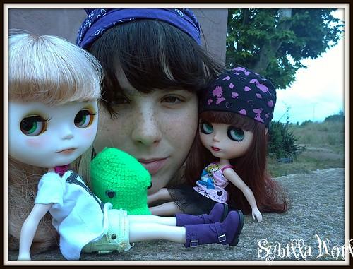 Mis niñas y yo by sybillaworld