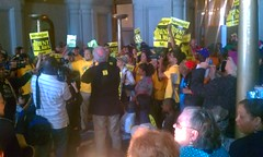 Albany Rent Law Rally 2