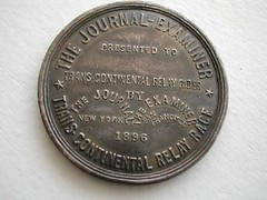 Yellow Fellow medal reverse
