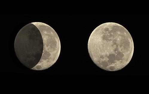 Eclipse da Lua - 17/06/2011 - 05:30 da matina by kassá