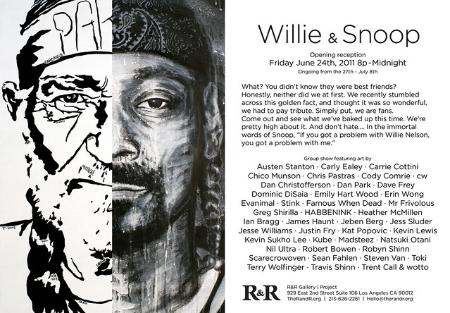 """WILLIE & SNOOP"" EXHIBITION"