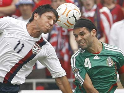 USA Soccer falls to Mexico