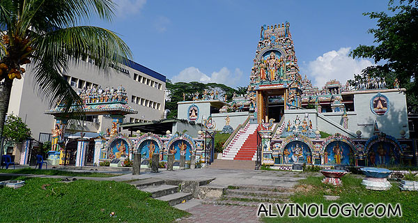 We passed by this Indian temple