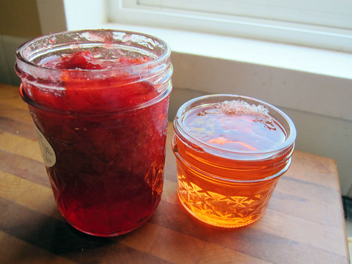 Strawberry Jam and Strawberry Wine Jelly_05