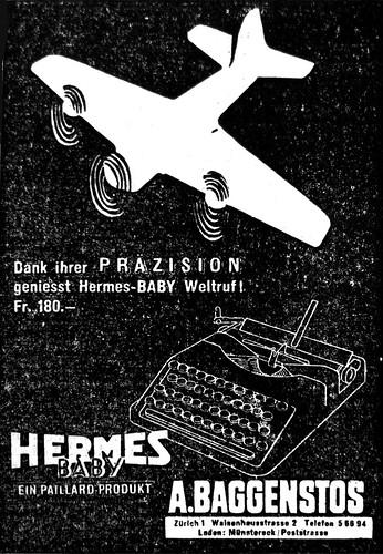 Hermes Baby 1943