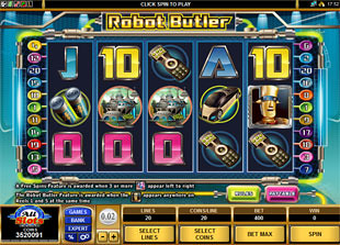 Robot Butler slot game online review