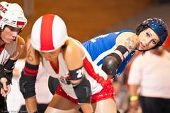 20110624.JetRatKCAtl_1087 (Axle Adams) Tags: sports rollerderby rollergirls skaters derby skates everett kansascityrollerwarriors kcrw jcrg jetcityrollergirls everettcommunitycollege
