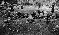 Pashtun Mujahideen Praying (Pashtun Afghan) Tags: people afghanistan men outdoors rebel war asia gun asians military muslim religion praying group weapon afghan males ritual posture kneeling adults machinegun guerrilla pathan inarow bayonet afghans afghani pakhtun pashtun mujahideen jehad centralasians pashton pashtoon pashtunistan mujhaideen pashtunkhwa