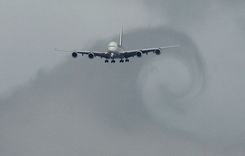 Airbus A380 Wake Turbulence | Flickr - Photo Sharing!