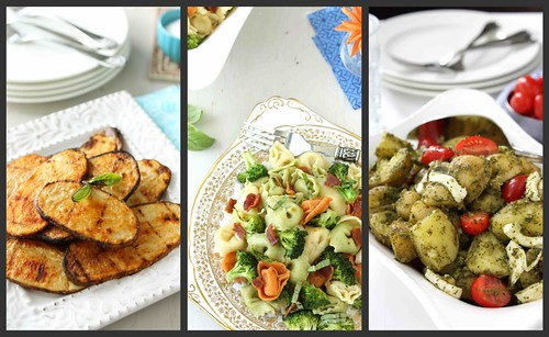 July Side Dish Collage