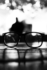 i can see clearly now (donchris!) Tags: b bw white black macro nerd blanco up glasses la und focus dof close geek bokeh w negro poland polska krakow polen gafas brille krakw lunettes weiss unscharf schwarz polonia nahaufnahme occhiali krakau pologne okulary unschrfe