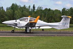 G-DJET (QSY on-route) Tags: club aero lincon sturgate egcs gdjet 04062011