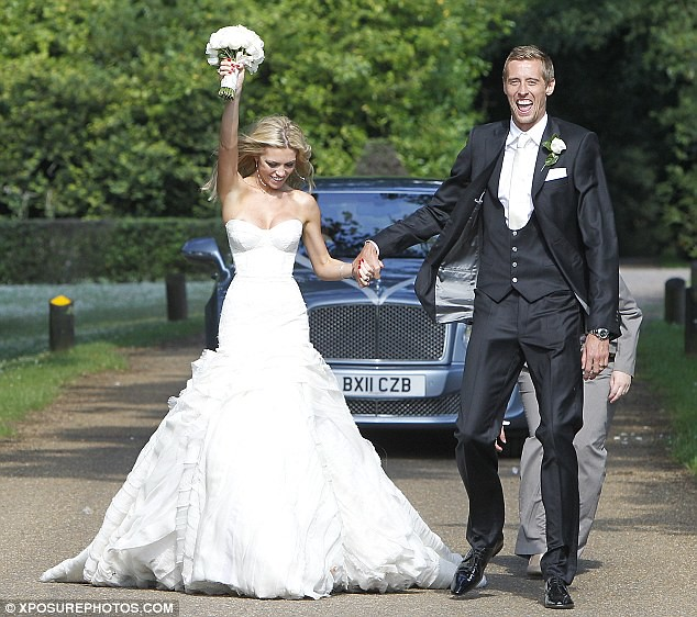 Nice day for a WAG wedding as Peter Crouch ties the knot with Abbey Clancy  7