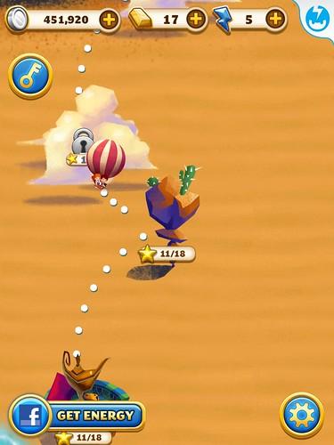 Jewel Mania Level Selection: screenshots, UI