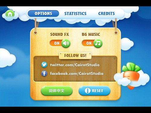 CarrotFantasy Settings: screenshots, UI