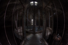 InSidE ThE ToweR ::   ( Explore ) (andre govia.) Tags: building tower abandoned water stairs buildings closed decay down andre explore asylum ue sanitarium govia exploreing